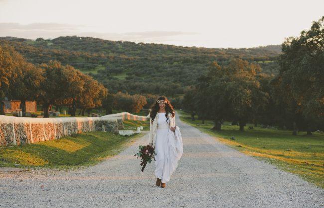 Boda en la dehesa, inspiración de novia, styled shooting