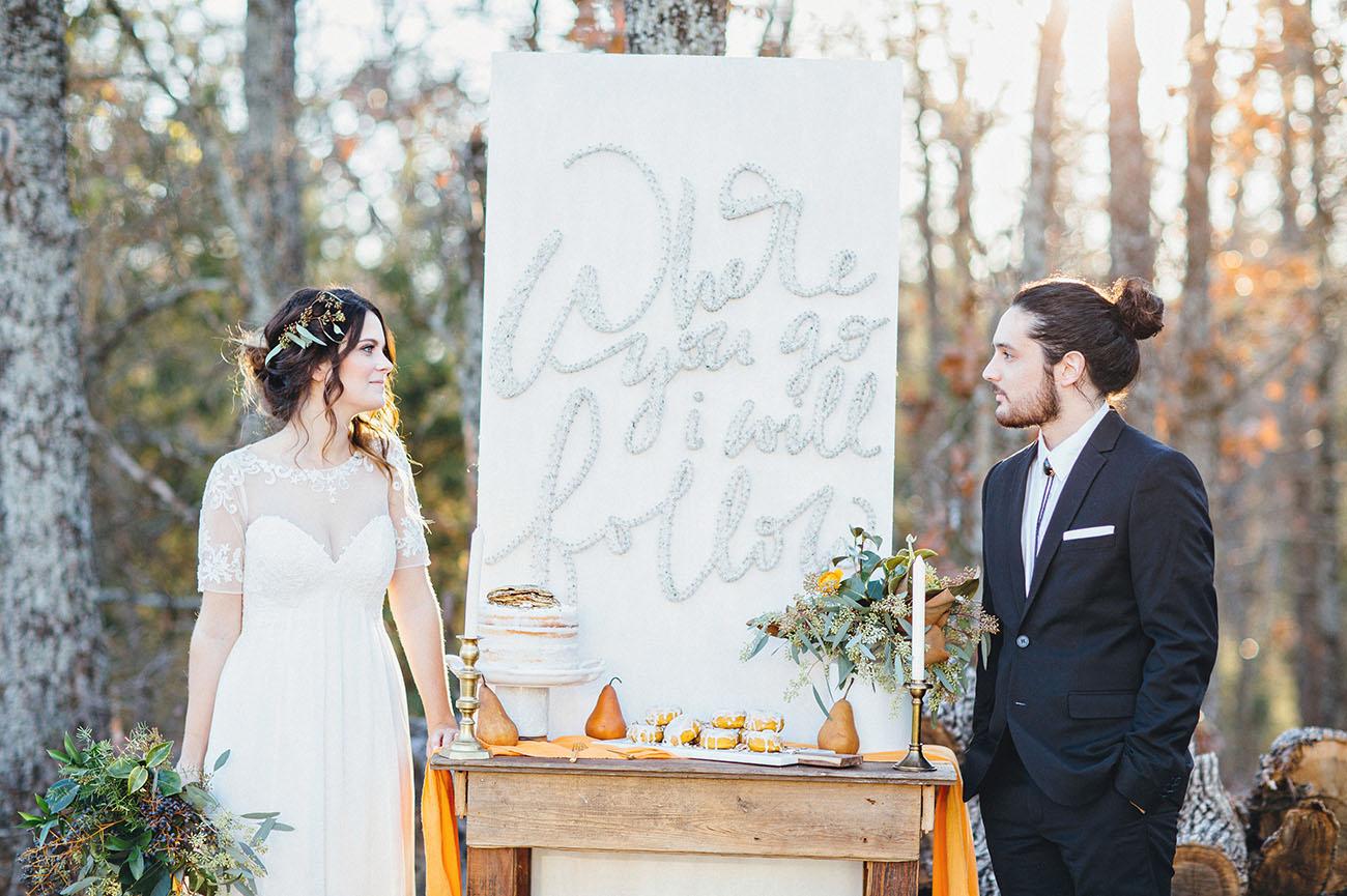 para una boda original e irrepetible