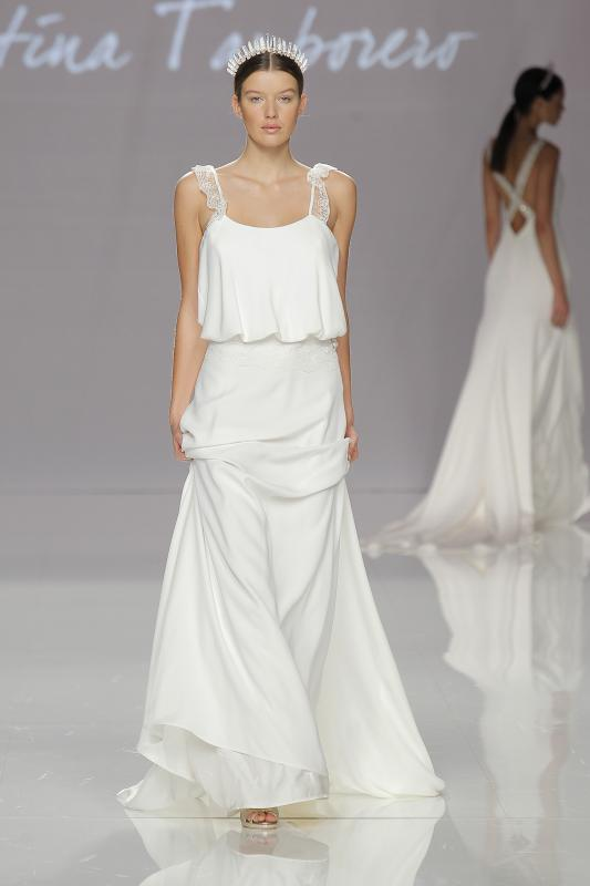 los vestidos de novia serán en 2018 así. 7 supertendencias de la