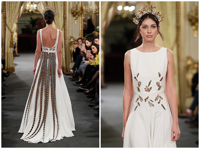 Alta costura en vestidos de novia