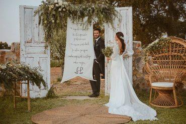Detalles decoración boda en el Tiro de Pichón wedding planner las catalinas Badajoz Extremadura