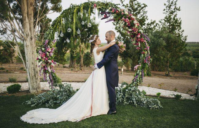 las catalinas wedding planners decoración de boda de luces en Finca Toribio Badajoz y Extremadura